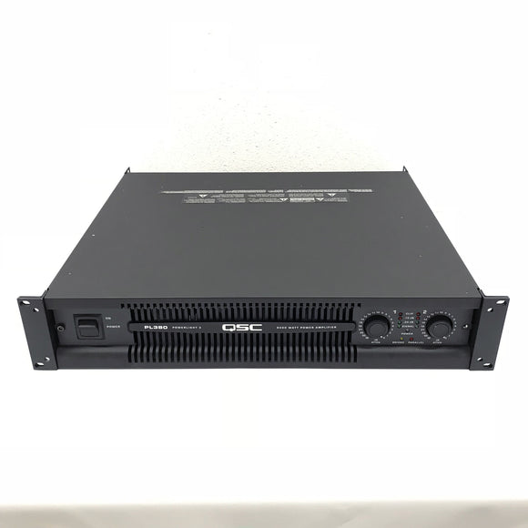 QSC PL380 Powerlight 3 Series Power Amp PL 380 8000W Lightweight Chassis