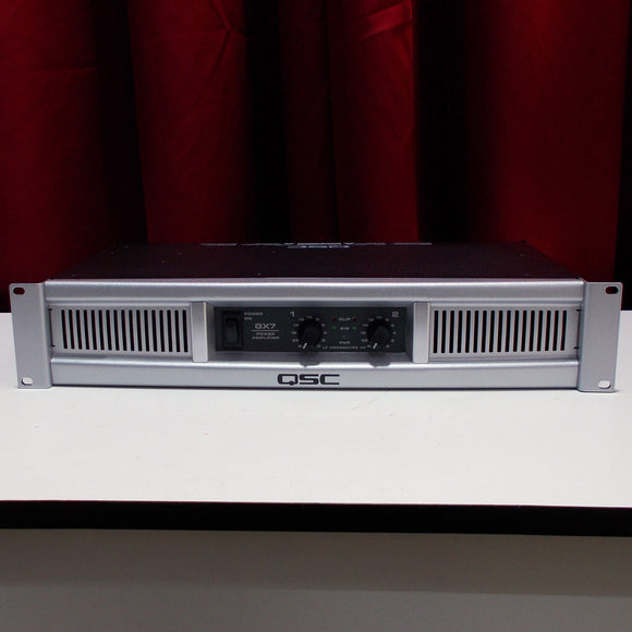 QSC GX7 1200w Power Amplifier (Certified Used)
