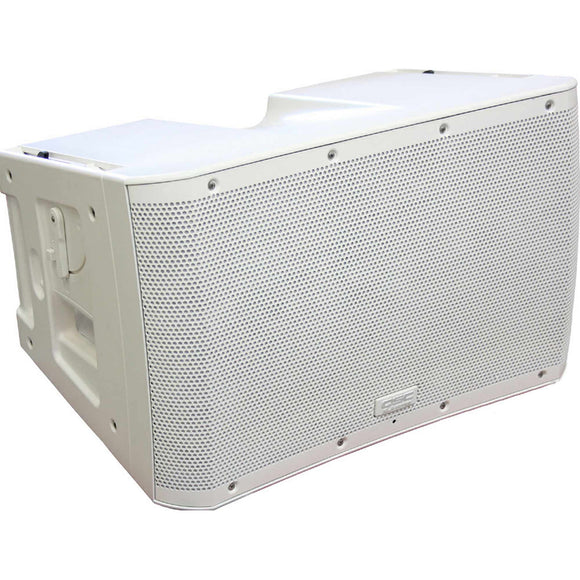 QSC KLA12 White 500W x 500W Two-Way Active Line-Array Loudspeaker