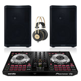 QSC CP8 1000W Loudspeaker Bundle with Pioneer DJ DDJ-SB3 Controller and AKG K92 Headphones