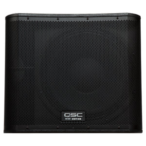 "QSC KW181 18"" Ported 1000W Active Subwoofer"