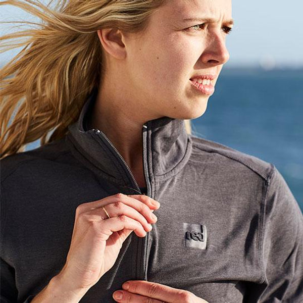 Women's Performance Top Layer - Grey