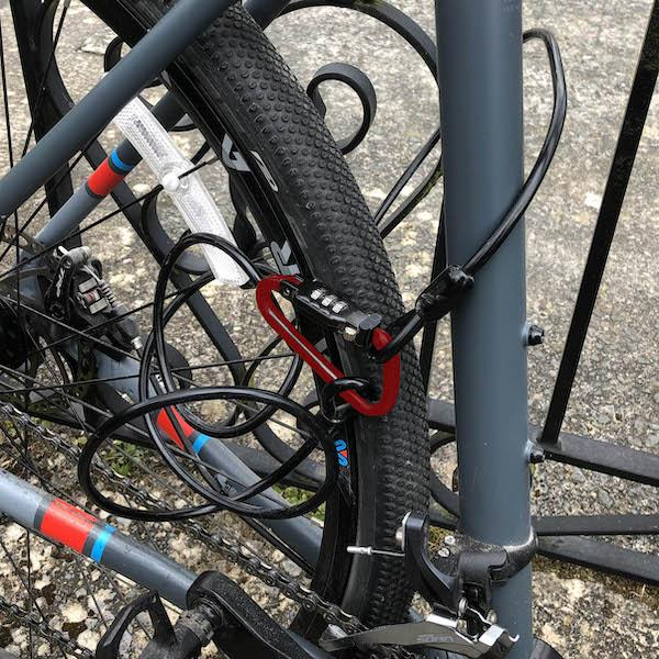 Combination Bike Lock - 340cm