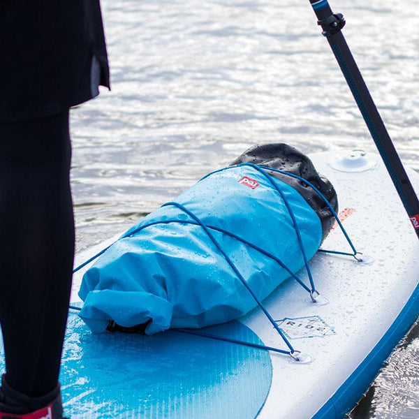 Red Original Roll Top Dry Bag on paddleboard