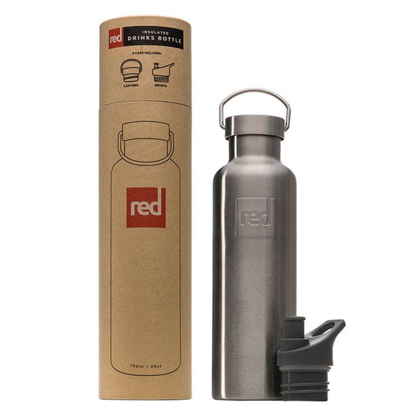 Red Original Insulated Drinks Bottle on white background
