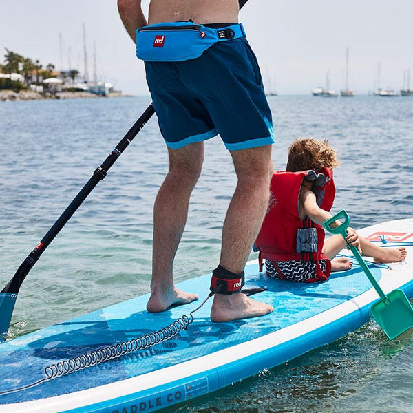 paddle boarders using Airbelt Personal Flotation Device (PFD)