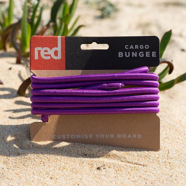 Red Original Purple Cargo Bungee short