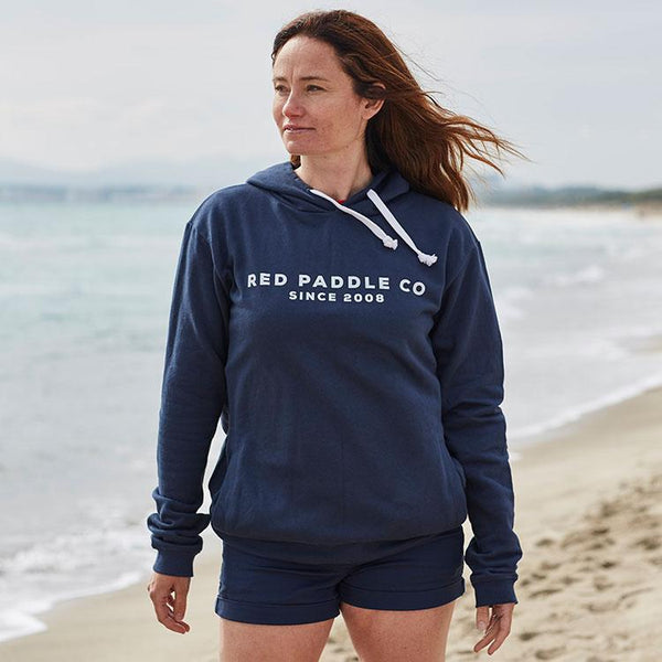 Women wearing Red Paddle Co Since 2008 Unisex Hoodie - Blue