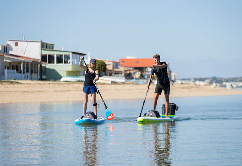 paddle boarding near beach