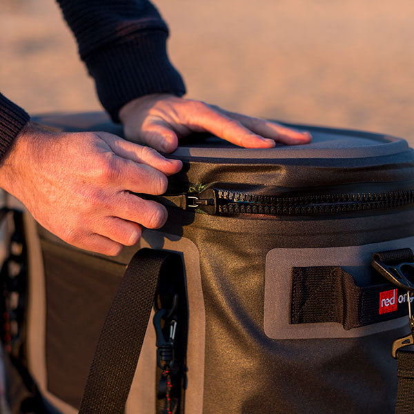 Unzipping The Red Original Waterproof Insulated Bag