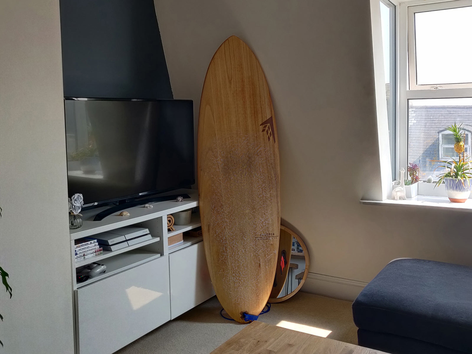 Surfboard at home