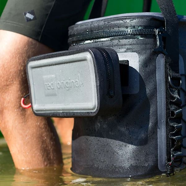 Waterproof Pouch attached to the Premium Cooler Bag