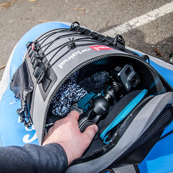 Using a Deck Bag to store Go Pro Camera