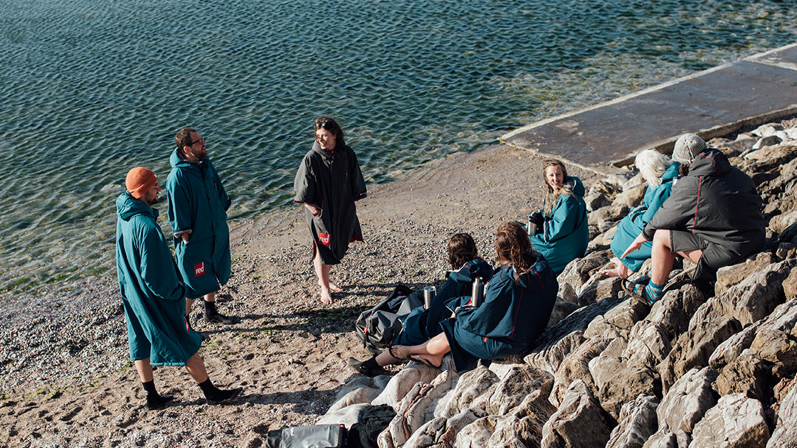 Pro Change Dry Robe in Firestone Teal for Men and Women