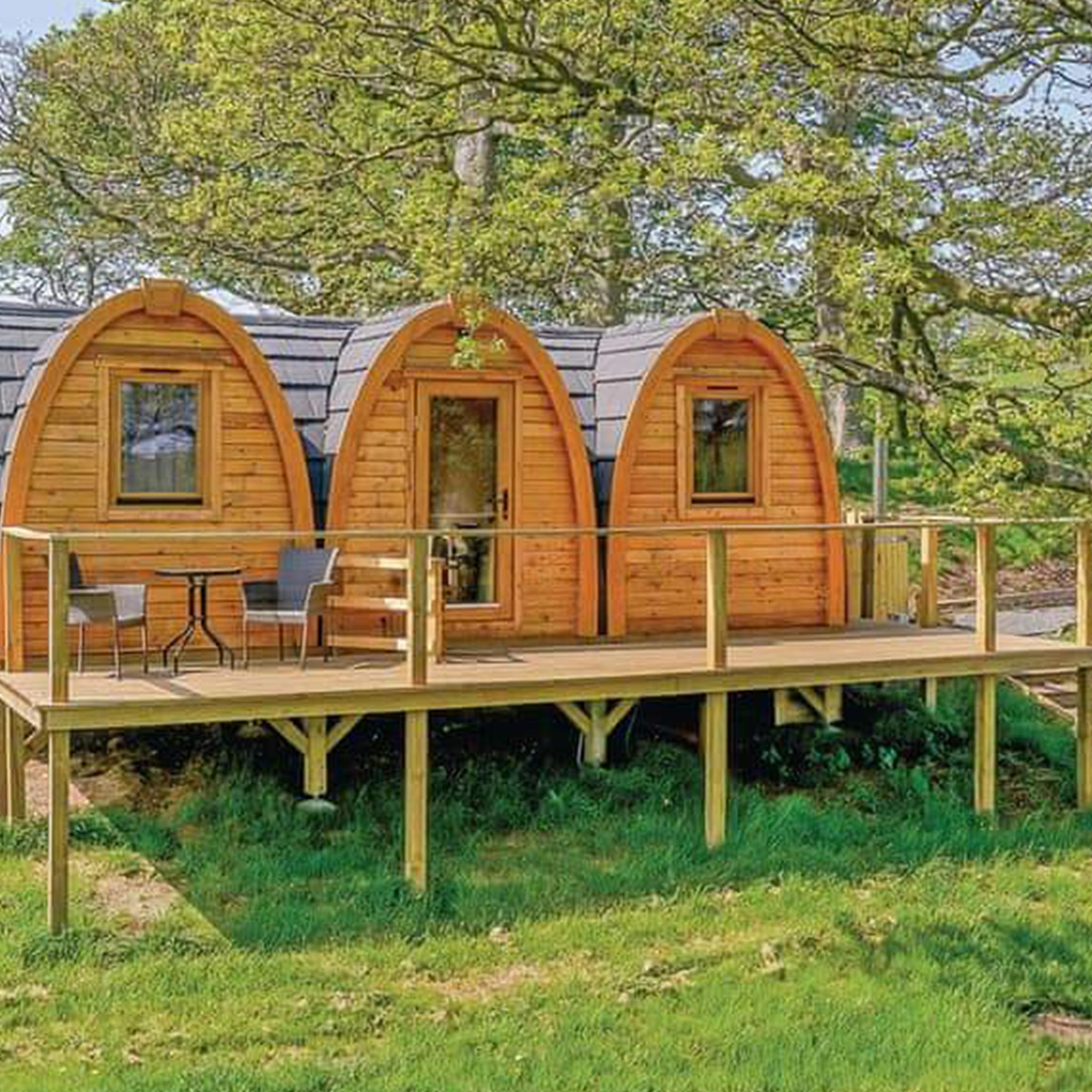 Wooden Camping Cabins