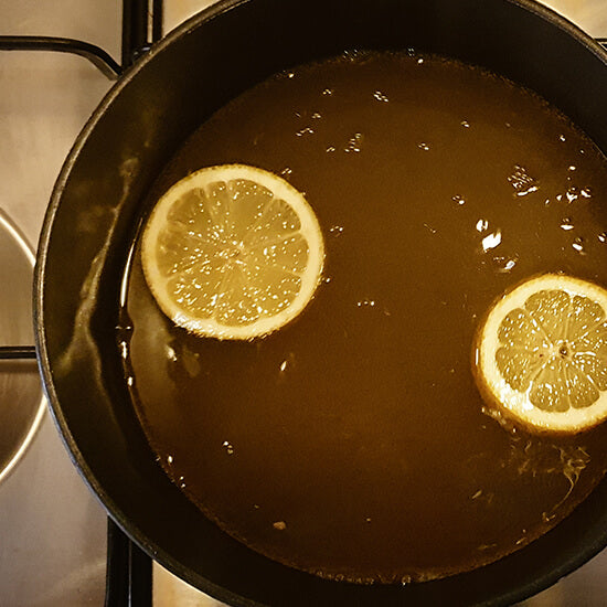 Hot Toddy In A Saucepan