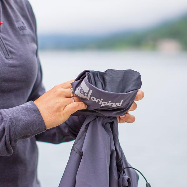 Waterproof Active Jacket Folded Up And Compact