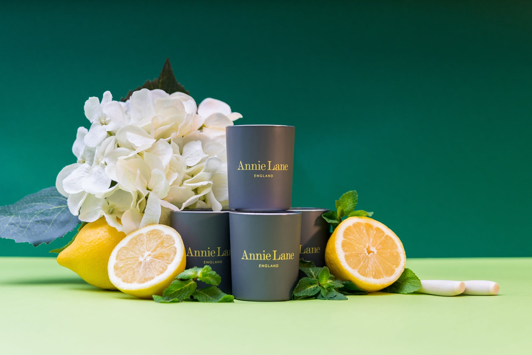 Lemon Geranium 4 x 9cl