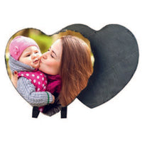 Heart Photo Slate (add your own photo)