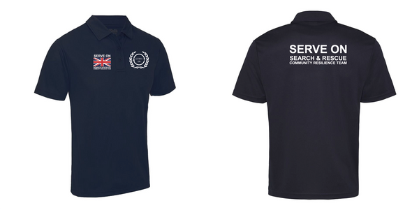 Unisex Cool Polo Shirt - Community Resilience Team