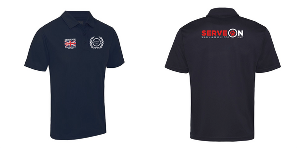 Unisex Cool Polo Shirt - Search & Rescue Dog Unit