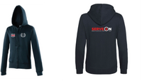 Ladies Zip Hoodie - Search & Rescue Dog Unit