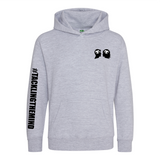 Kids Embroidered Pullover Hoodie