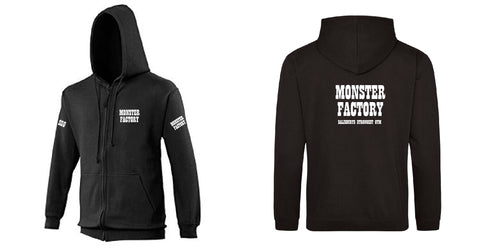 Monster Factory Zip Hoodie