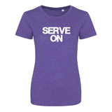 Ladies Heather T Shirt (Bold logo)