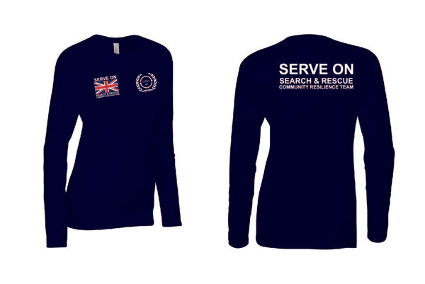 Ladies Longsleeve - Community Resilience Team