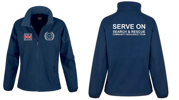 Ladies Softshell - Community Resilience Team