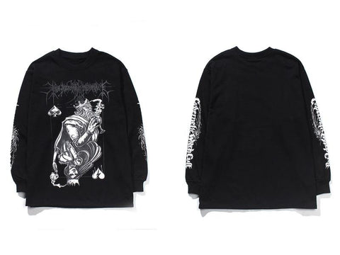 DARK ROYAL LONG SLEEVE