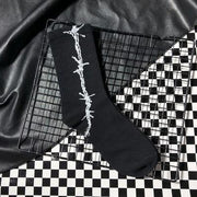 BARBED WIRE STREET SOCKS