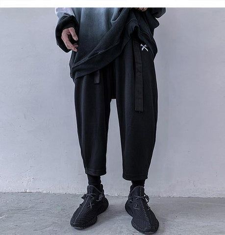 RAISED HAREM PANTS