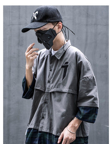TEKNIKAL THIN BUTTON UP