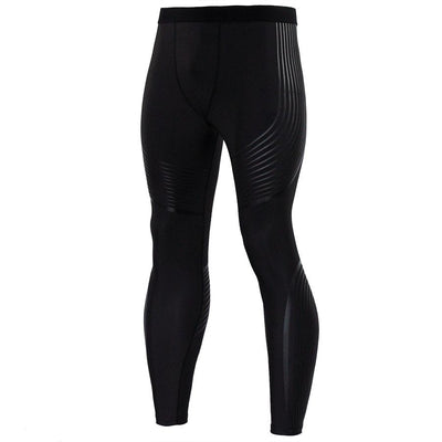 STRIPED COMPRESSION PANTS