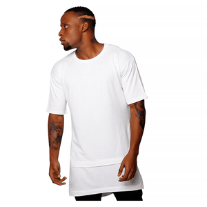 OVERSIZE FAUX TWO PIECE T-SHIRT