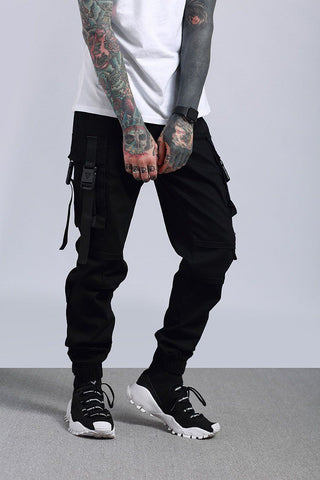 PURSUIT STRAP BUCKLE JOGGERS