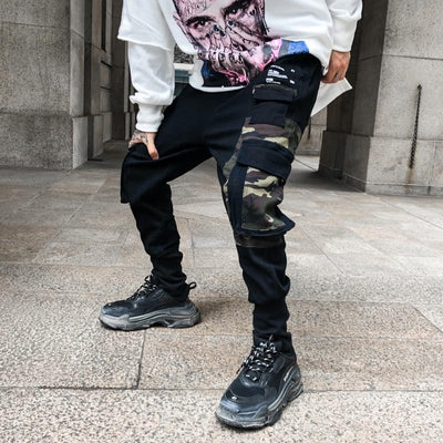 CAMO PATCH JOGGERS