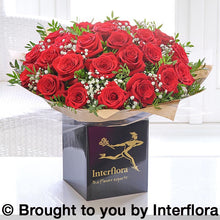 Selection of Valentines Red Roses Bouquets