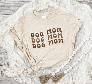 Dog Mom Neutral Tee