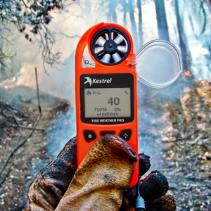 Kestrel 5500FW Fire Weather Meter Pro with LiNK & Vane Mount