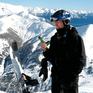 kestrel 2000 in use whilst skiing & snowboarding