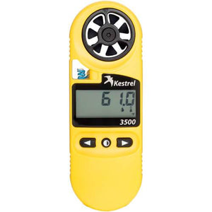 Kestrel 3500 Pocket Weather Meter Front View