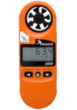 Kestrel 3500FW Fire Weather Meter Front View