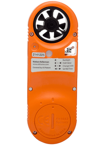 Kestrel 3500FW Fire Weather Meter Rear View