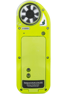 Kestrel 5000AG Livestock Environmental Meter rear view