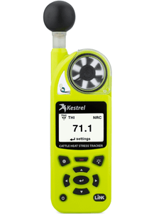Kestrel 5400AG Cattle Heat Stress Tracker with LiNK front view
