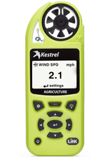 Kestrel 5500AG Agriculture Weather Meter front view