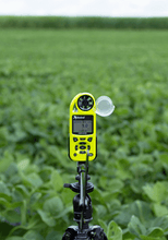 Kestrel 5500AG Agriculture Weather Meter in field